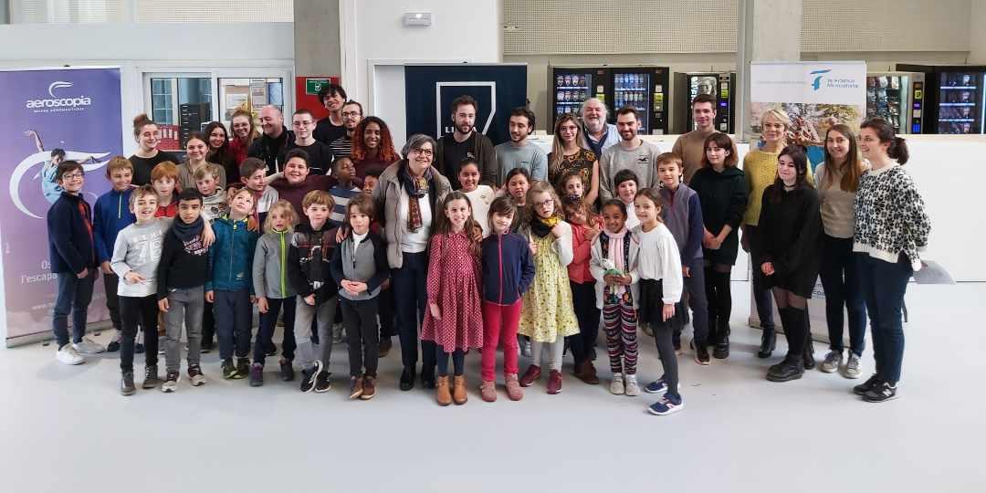 Vidéo sur TV ViàOccitanie : un clip animé sur l'écologie pour une chorale intergénérationnelle d'Occitanie